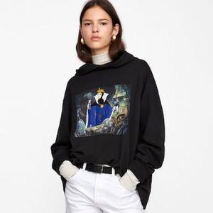 Zara x Disney Snow White evil queen hoodie